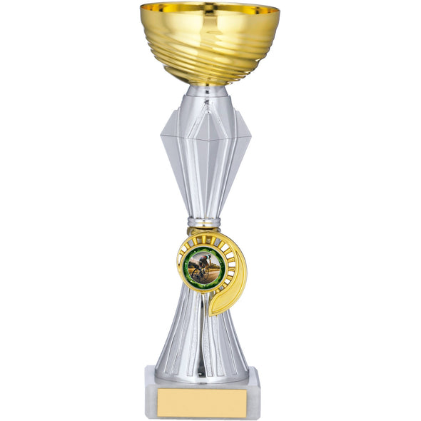 Gold And Silver Trophy 22.5cm