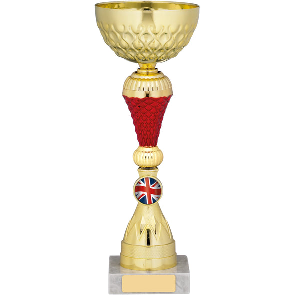 Gold/Red Trophy 28.5cm