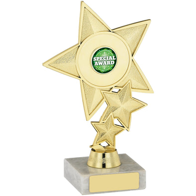 Star Trophy Holder 18cm