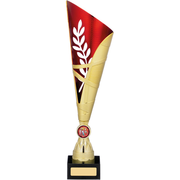 Gold Red Trophy 34.5cm