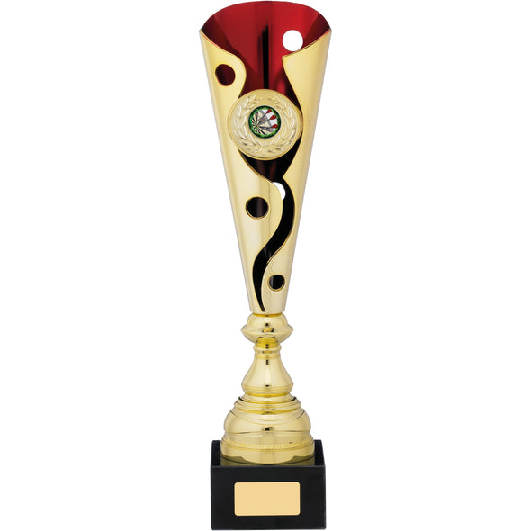 Gold Red Trophy 39.5cm