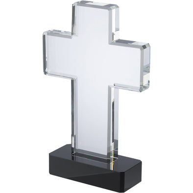 Optical Crystal Cross 8.5in