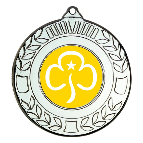 Brownies Silver Laurel 50mm Medal