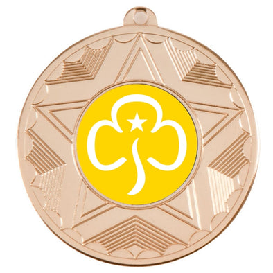 Brownies Gold Star 50mm Medal