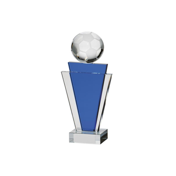 Gauntlet Football Crystal Award 160mm