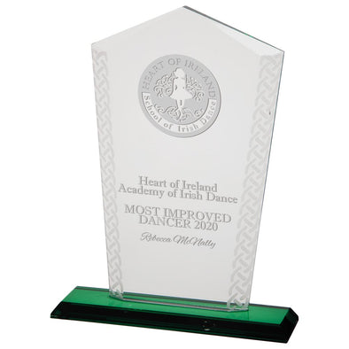Horizon Celtic Crystal Award 230mm