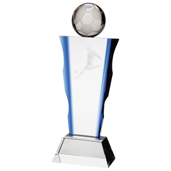 Celestial Football Crystal Award 260mm