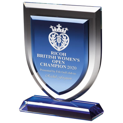 Delta Blue Crystal Award 170mm
