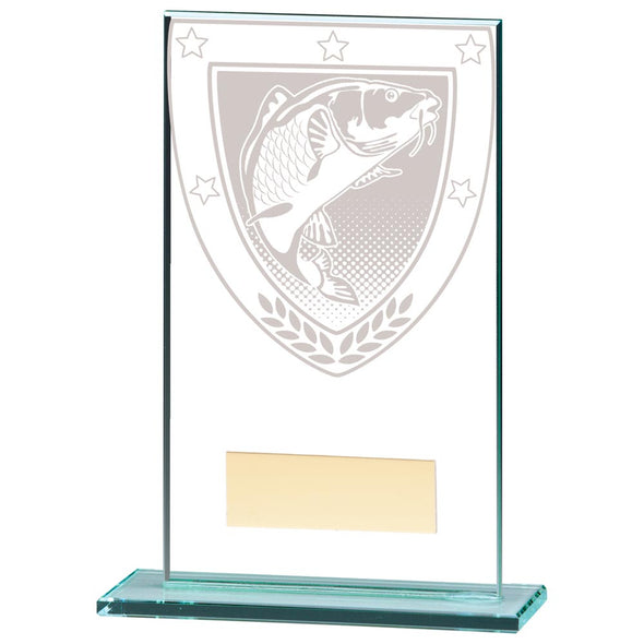 Millennium Fishing Jade Glass Award 140mm