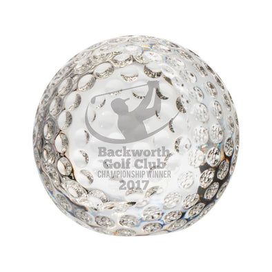Menteith Golf Optical Crystal Ball 55mm