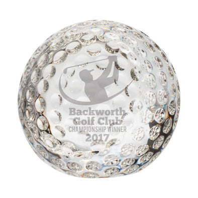 Menteith Golf Optical Crystal Ball 75mm
