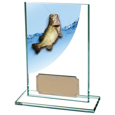 Colour Curve Angling Jade Glass Award 125mm