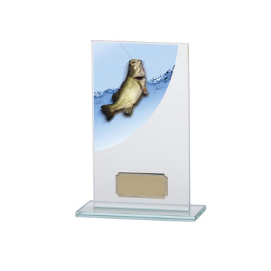 Colour Curve Angling Jade Glass Award 160mm