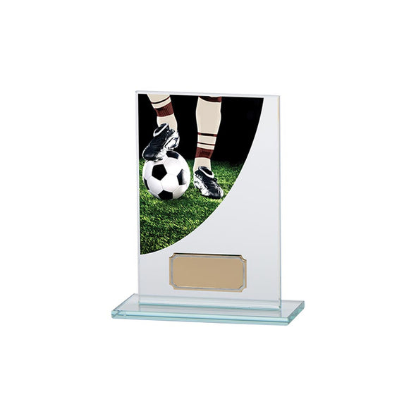 Football Boot Colour-Curve Jade Glass 140mm
