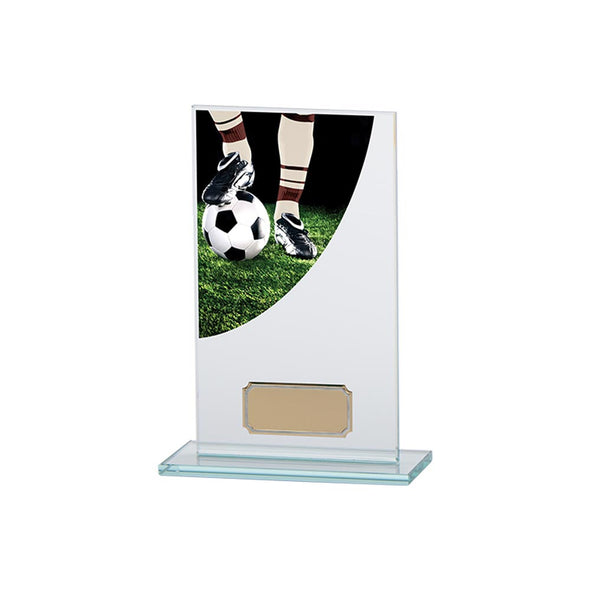 Football Boot Colour-Curve Jade Glass 160mm