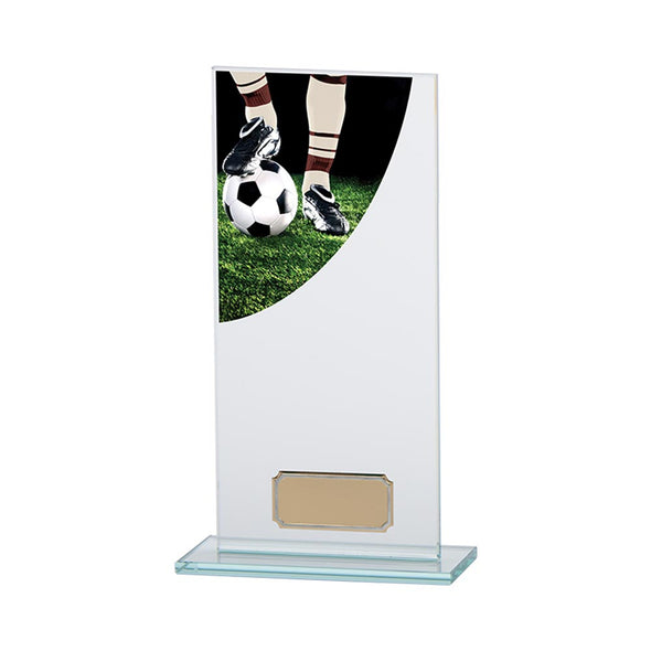 Football Boot Colour-Curve Jade Glass 200mm