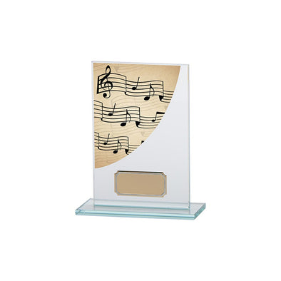 Colour Curve Music Jade Glass Award 140mm