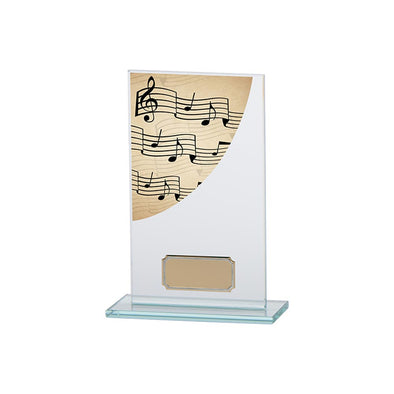 Colour Curve Music Jade Glass Award 160mm