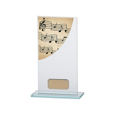 Colour Curve Music Jade Glass Award 180mm