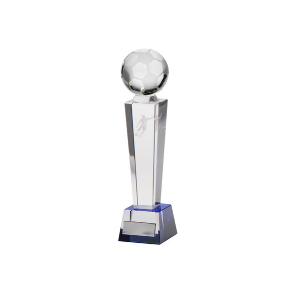 Legend Tower Crystal Football Award 180mm