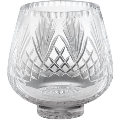 Hand Cut Crystal Bowl 7.25in
