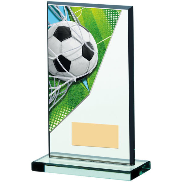 Football Acrylic Glass Award 17cm