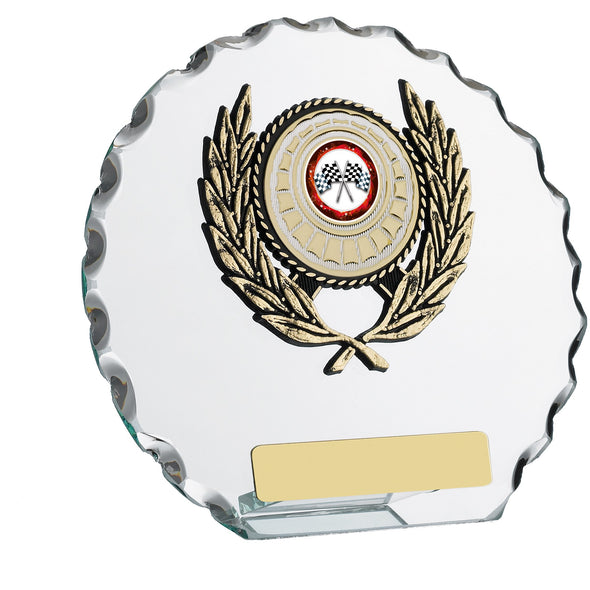 Glass Round Award 15cm