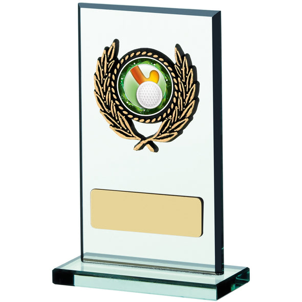 Glass Plaque Award 11cm