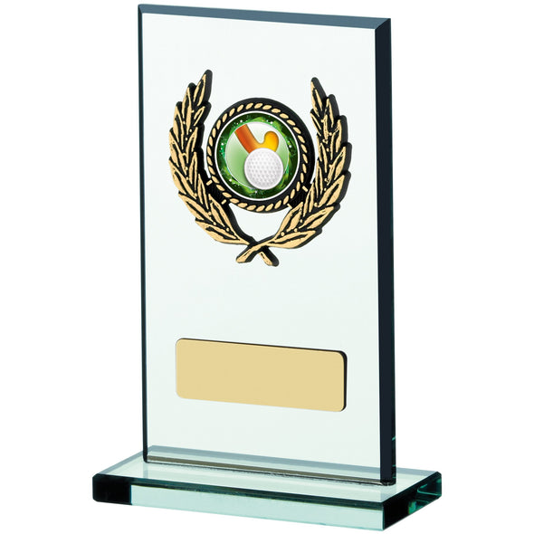 Glass Plaque Award 13cm