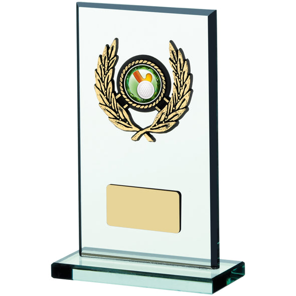 Glass Plaque Award 17cm