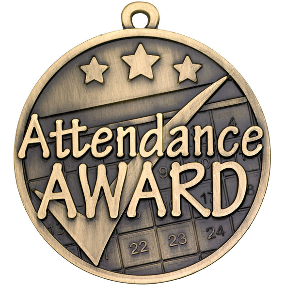 Attendance Award Medal 50mm