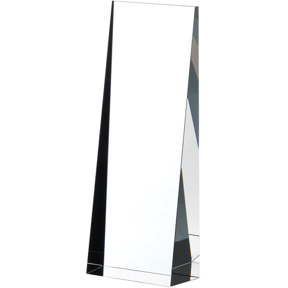 Glass Pillar Award 21cm