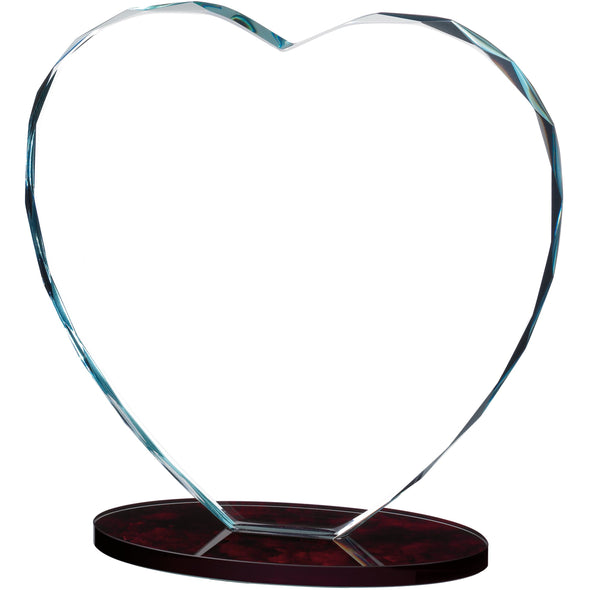 Heart Glass Award 21cm