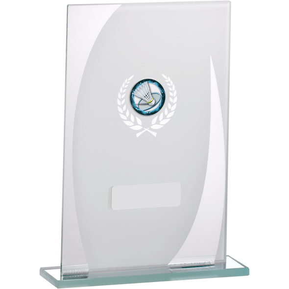 White Mirror Glass Award 18.5cm