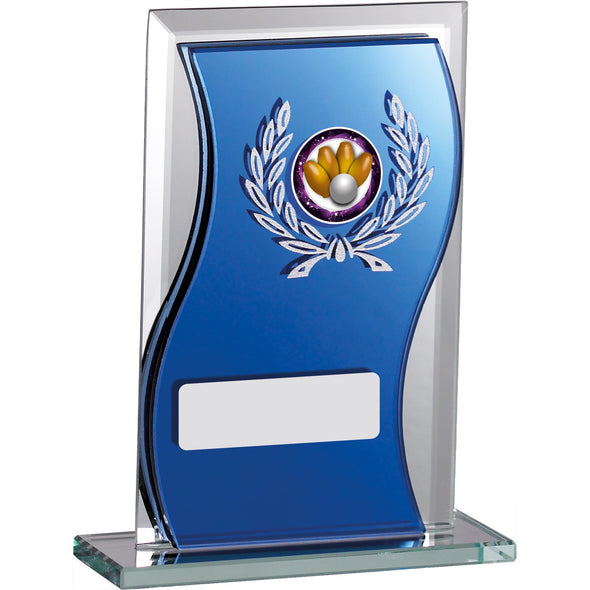 Glass Mirrored Award 12.5cm