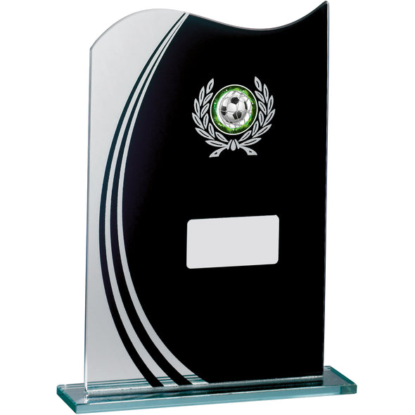 Glass Black Mirror Award 20.5cm