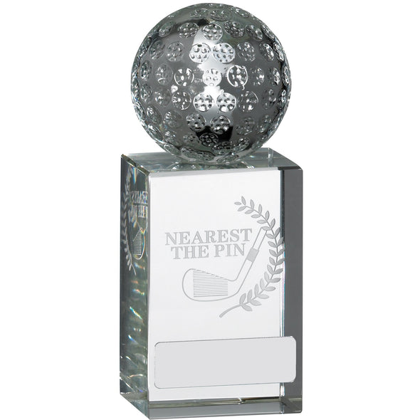 Golf Nearest The Pin 13cm Trophy