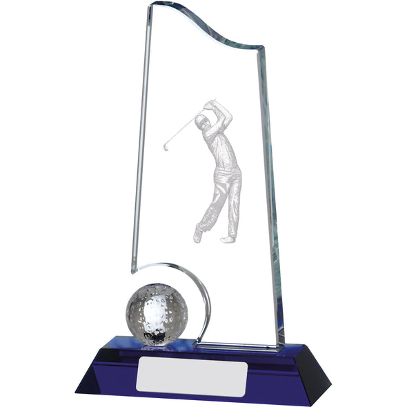 Golf Glass Award 17.5cm
