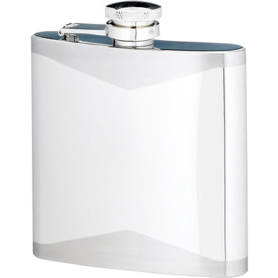 Engraved 6 Ounce Stainless Steel Flask