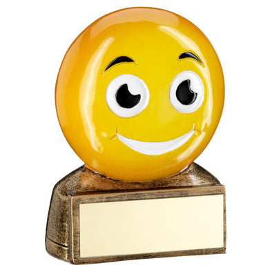 Smile Emoji Trophy - 2.75in