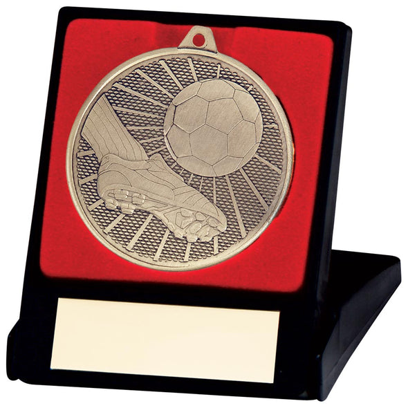 Formation Football Medal & Box Gold 50mm