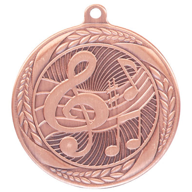 Typhoon Music Medal Bronze 55mm
