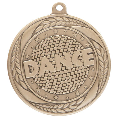Typhoon Dance Medal Gold 55mm