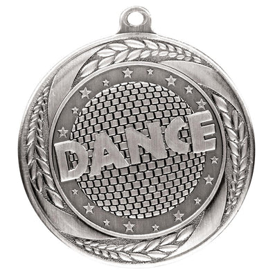 Typhoon Dance Medal Silver 55mm