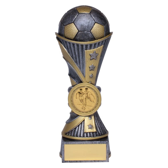 All Stars Football Heavyweight Award Antique Silver & Gold 150mm