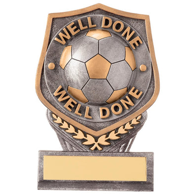 Falcon Football Well Done Award 105mm