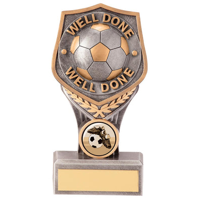 Falcon Football Well Done Award 150mm