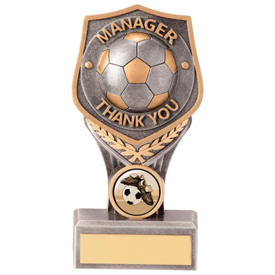 Falcon Football Manager Thank You Award 150mm
