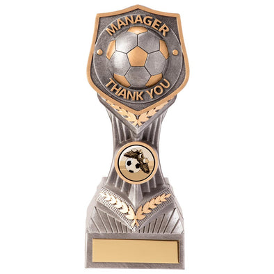 Falcon Football Manager Thank You Award 190mm