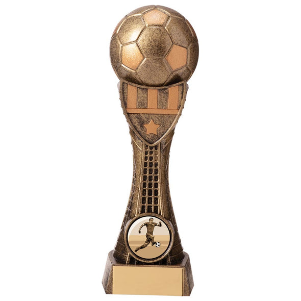 Valiant Football Heavyweight Award Classic Gold 165mm